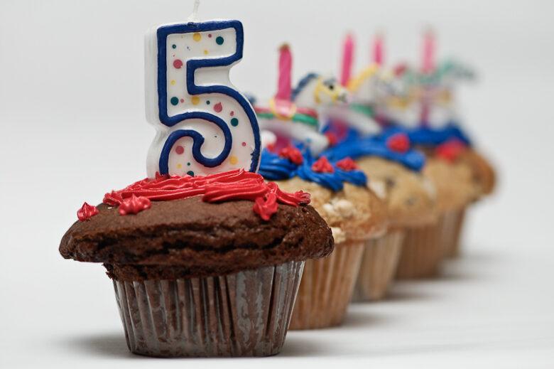 five cake